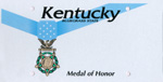 Medal of Honor Kentucky license plate